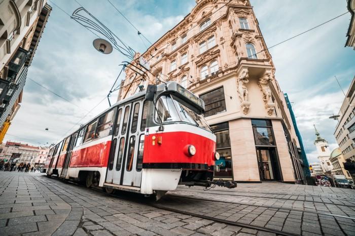 A tram in Brno, Czech republic | Photo: Viktor Hanáček