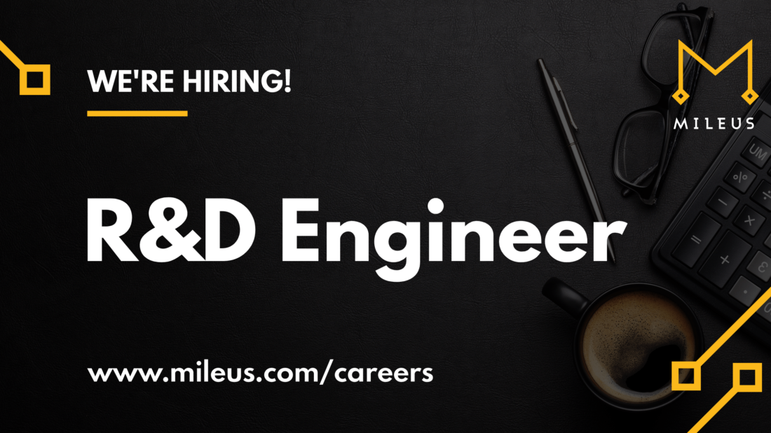 Hiring graphic image for the role of R&D Engineer