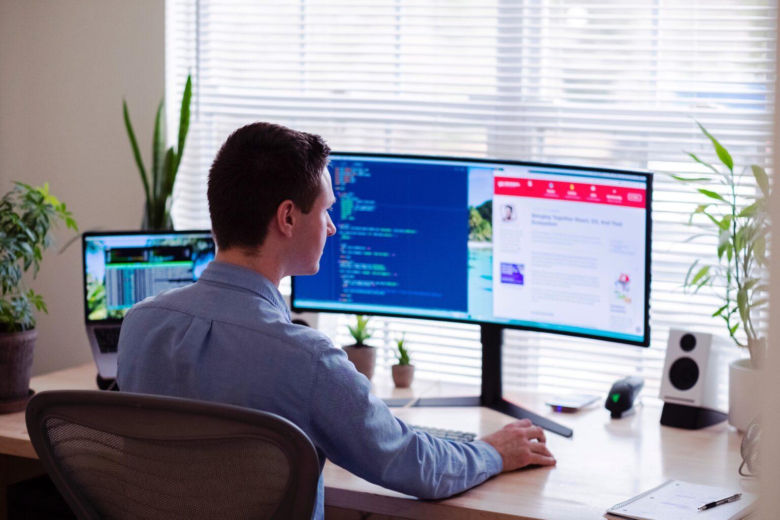 Homeoffice desktop setup