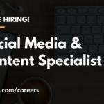 Social Media & Content Specialist